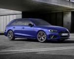 2022 Audi A4 Avant S Line Competition Plus (Color: Navarra Blue Metallic) Front Three-Quarter Wallpapers 150x120 (7)