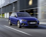 2022 Audi A4 Avant S Line Competition Plus (Color: Navarra Blue Metallic) Front Three-Quarter Wallpapers 150x120 (3)
