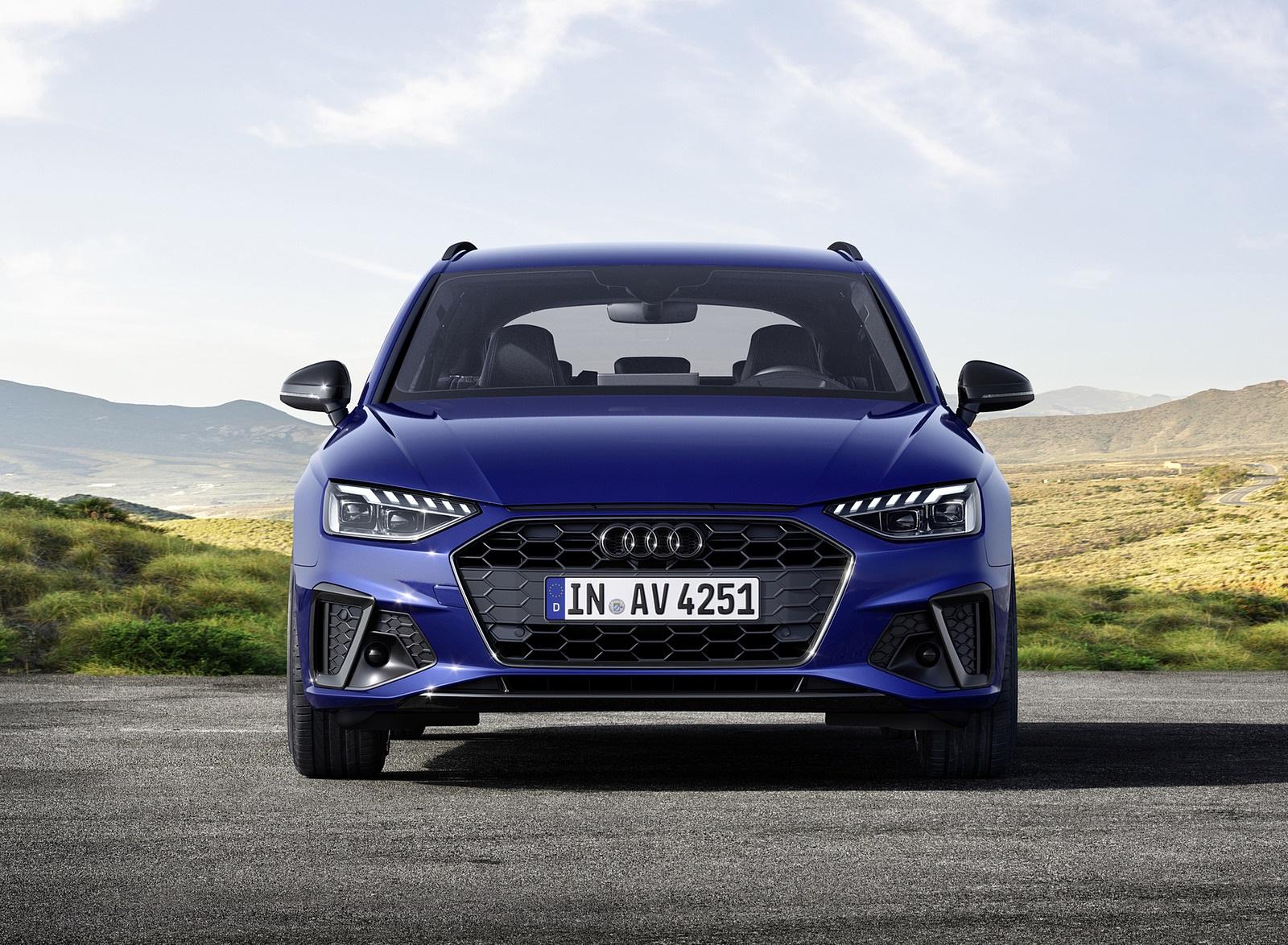 2022 Audi A4 Avant S Line Competition Plus (Color: Navarra Blue Metallic) Front Wallpapers (10)