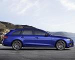 2022 Audi A4 Avant S Line Competition Plus (Color: Navarra Blue Metallic) Side Wallpapers 150x120 (12)