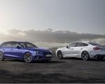 2022 Audi A4 Avant S Line Competition Plus (Color: Navarra Blue Metallic) and Audi A5 Sportback S line competition plus Wallpapers 150x120 (13)