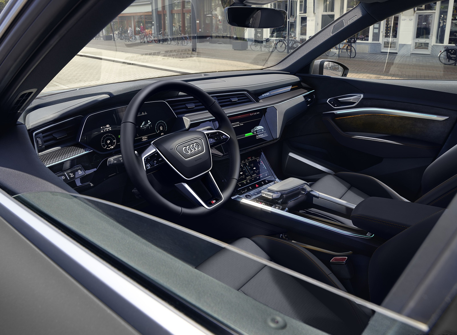 2022 Audi e-tron Interior Wallpapers (5)