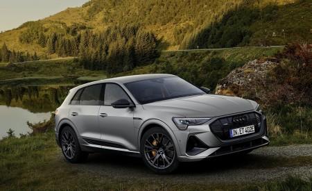 2022 Audi e-tron S Line Black Edition Wallpapers HD