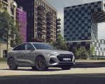 2022 Audi e-tron Sportback S Line Black Edition (Color: Chronos Grey Metallic) Front Three-Quarter Wallpapers 150x120 (3)