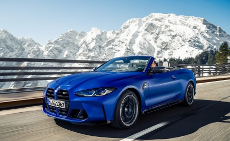 2022 BMW M4 Competition Convertible M xDrive Wallpapers HD