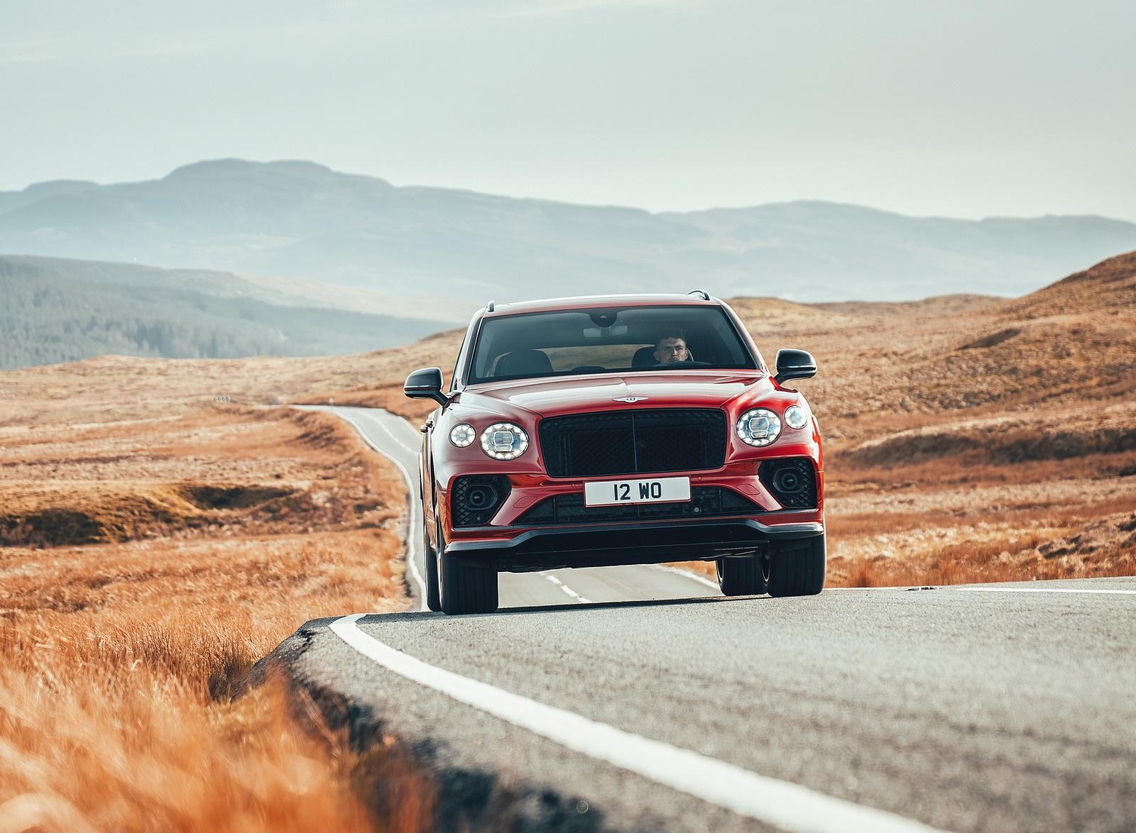 2022 Bentley Bentayga S Front Wallpapers (5)