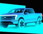 2022 Ford F-150 Lightning Design Sketch Wallpapers  150x120 (22)