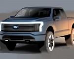 2022 Ford F-150 Lightning Design Sketch Wallpapers  150x120 (24)