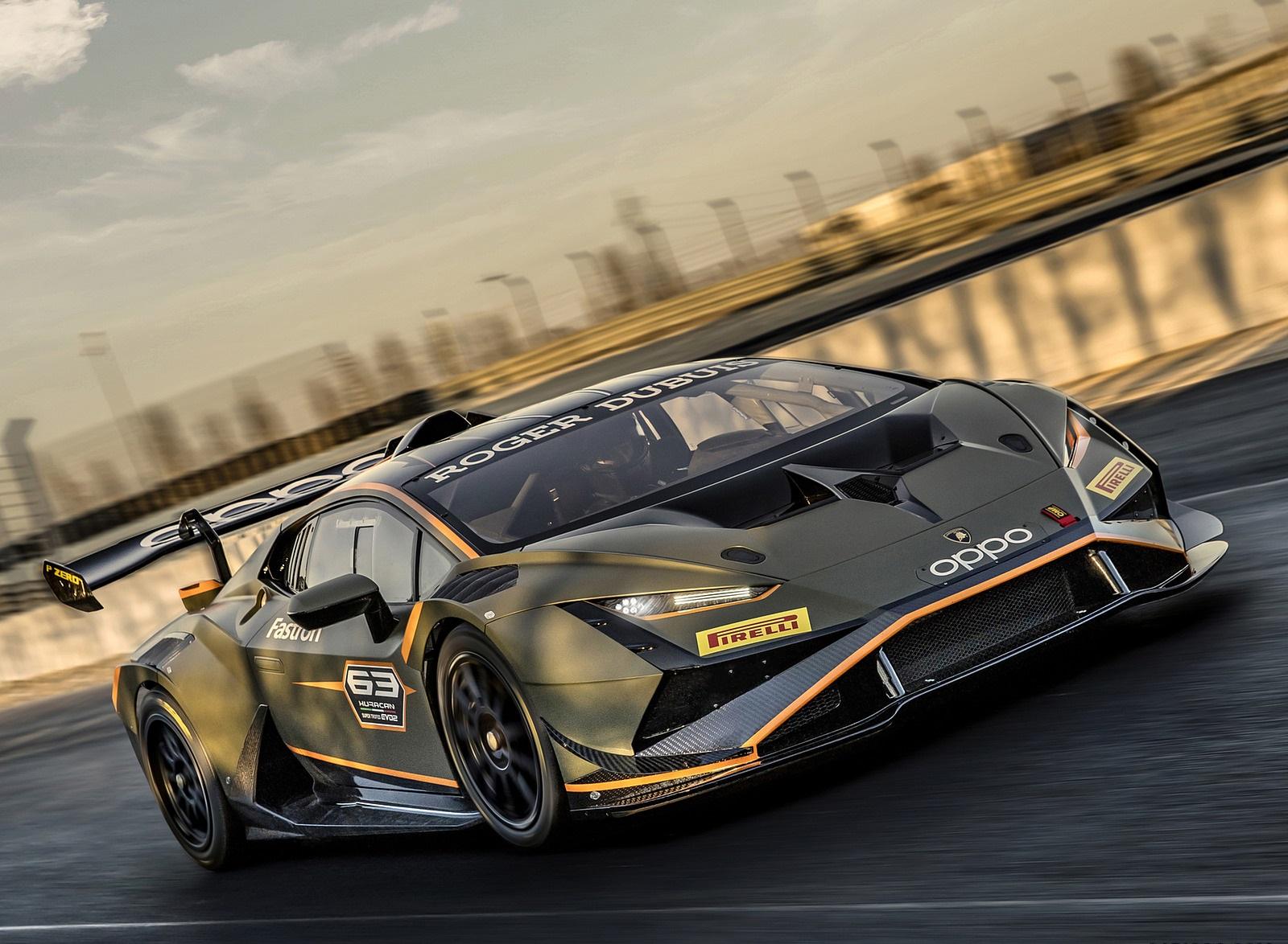 2022 Lamborghini Huracán Super Trofeo EVO2 Front Three-Quarter Wallpapers (5)