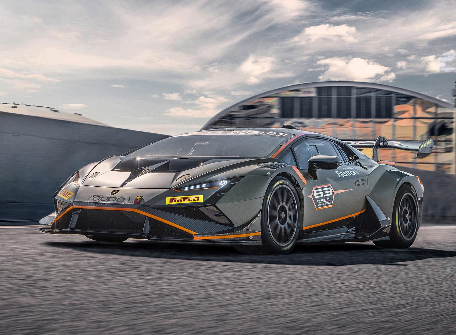 2022 Lamborghini Huracán Super Trofeo EVO2 Front Three-Quarter Wallpapers (1)
