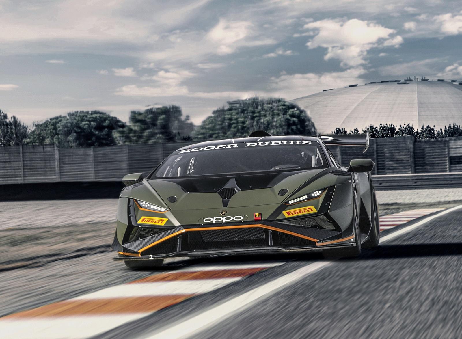 2022 Lamborghini Huracán Super Trofeo EVO2 Front Wallpapers (4)