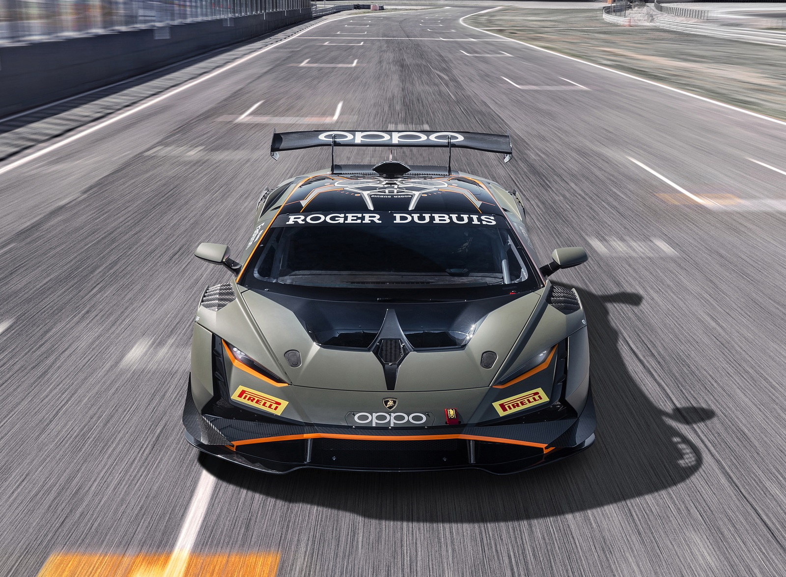 2022 Lamborghini Huracán Super Trofeo EVO2 Front Wallpapers (2)