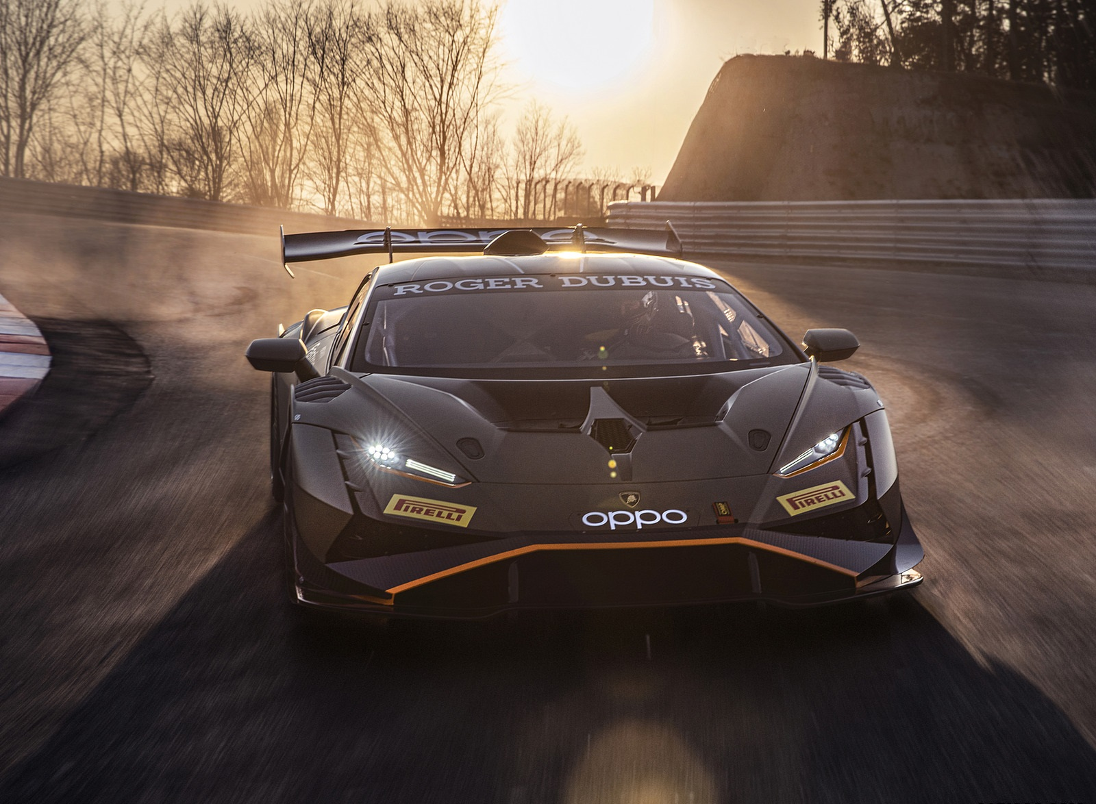 2022 Lamborghini Huracán Super Trofeo EVO2 Front Wallpapers (6)