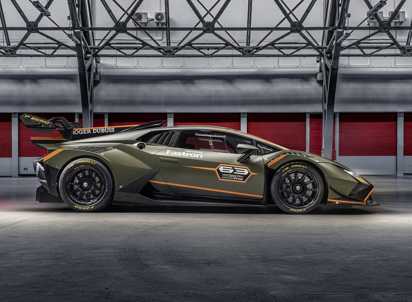 2022 Lamborghini Huracán Super Trofeo EVO2 Side Wallpapers (9)