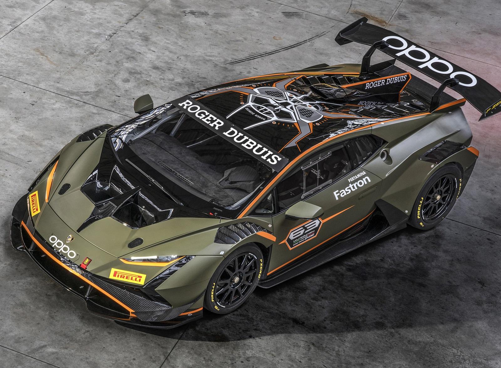 2022 Lamborghini Huracán Super Trofeo EVO2 Top Wallpapers (8)