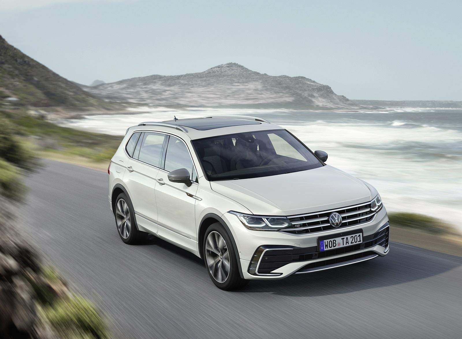 2022 Volkswagen Tiguan Allspace Front Three-Quarter Wallpapers (1)