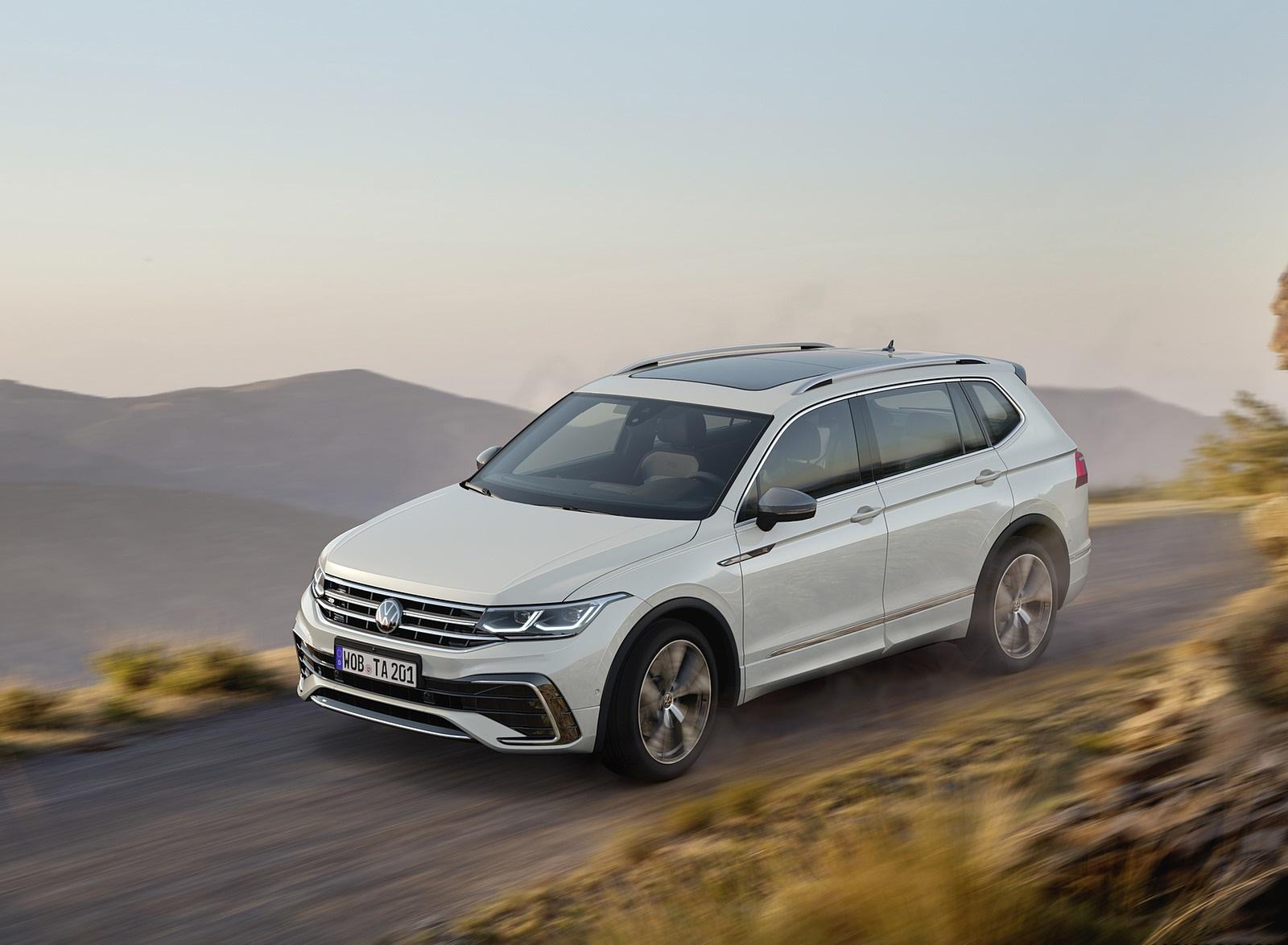 2022 Volkswagen Tiguan Allspace Front Three-Quarter Wallpapers (2)
