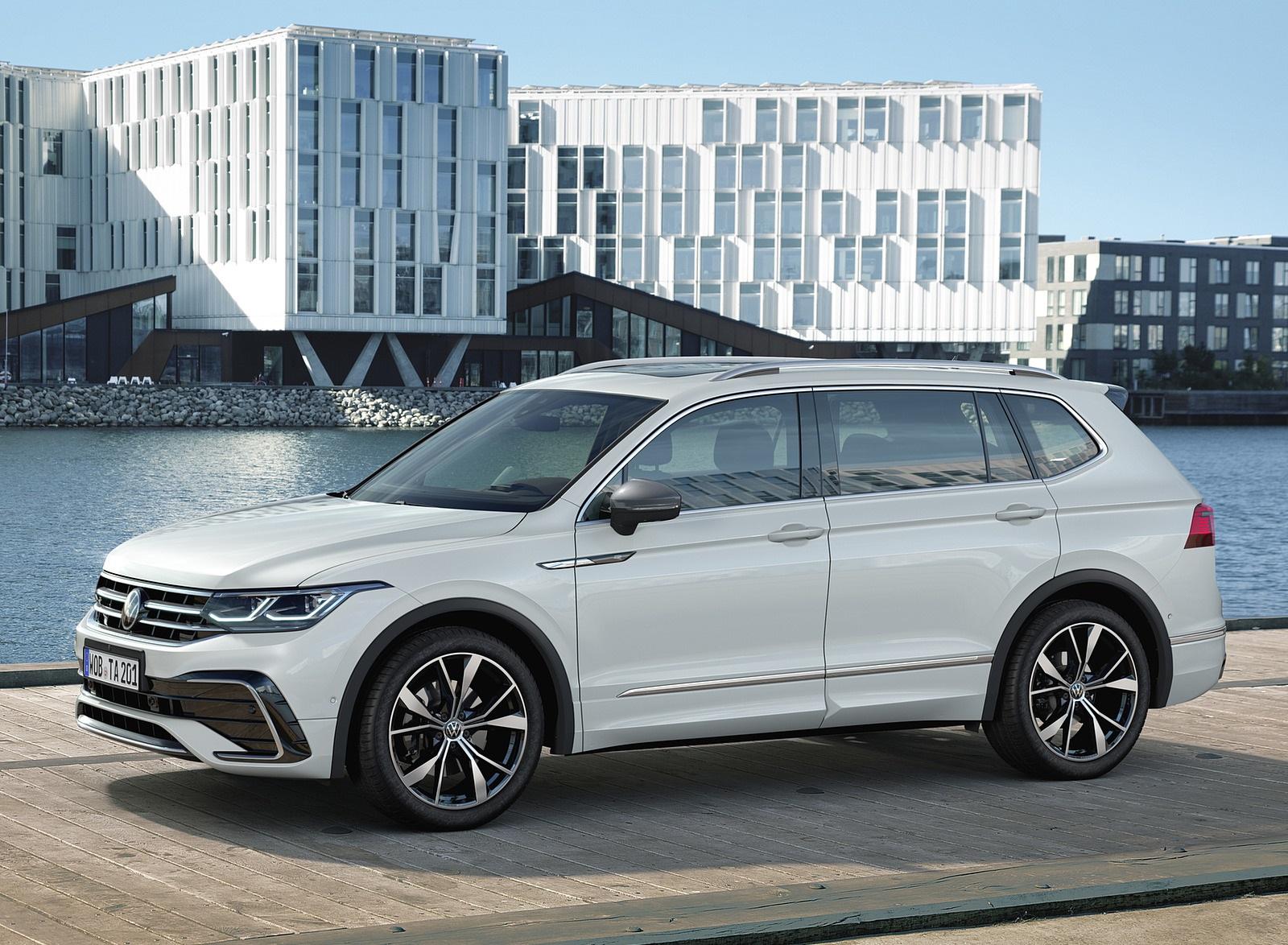 2022 Volkswagen Tiguan Allspace Front Three-Quarter Wallpapers (7)