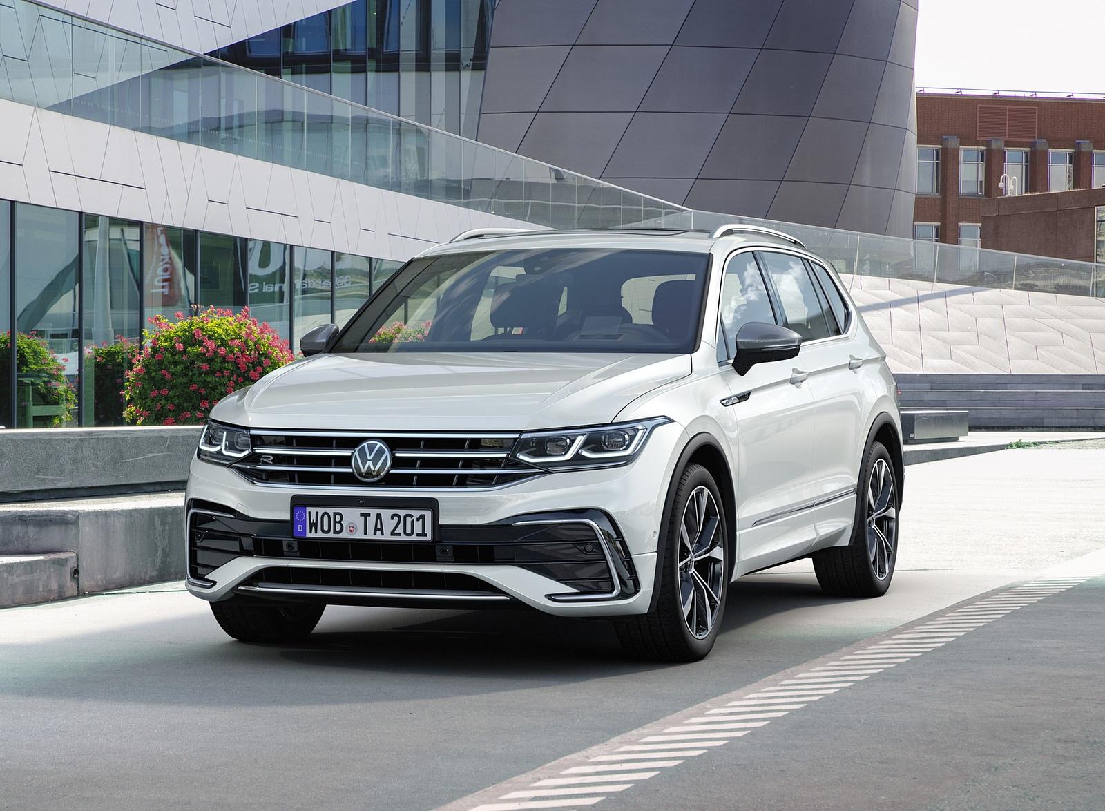 2022 Volkswagen Tiguan Allspace Front Wallpapers (8)