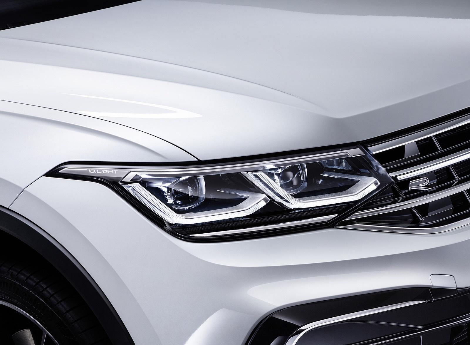 2022 Volkswagen Tiguan Allspace Headlight Wallpapers (10)
