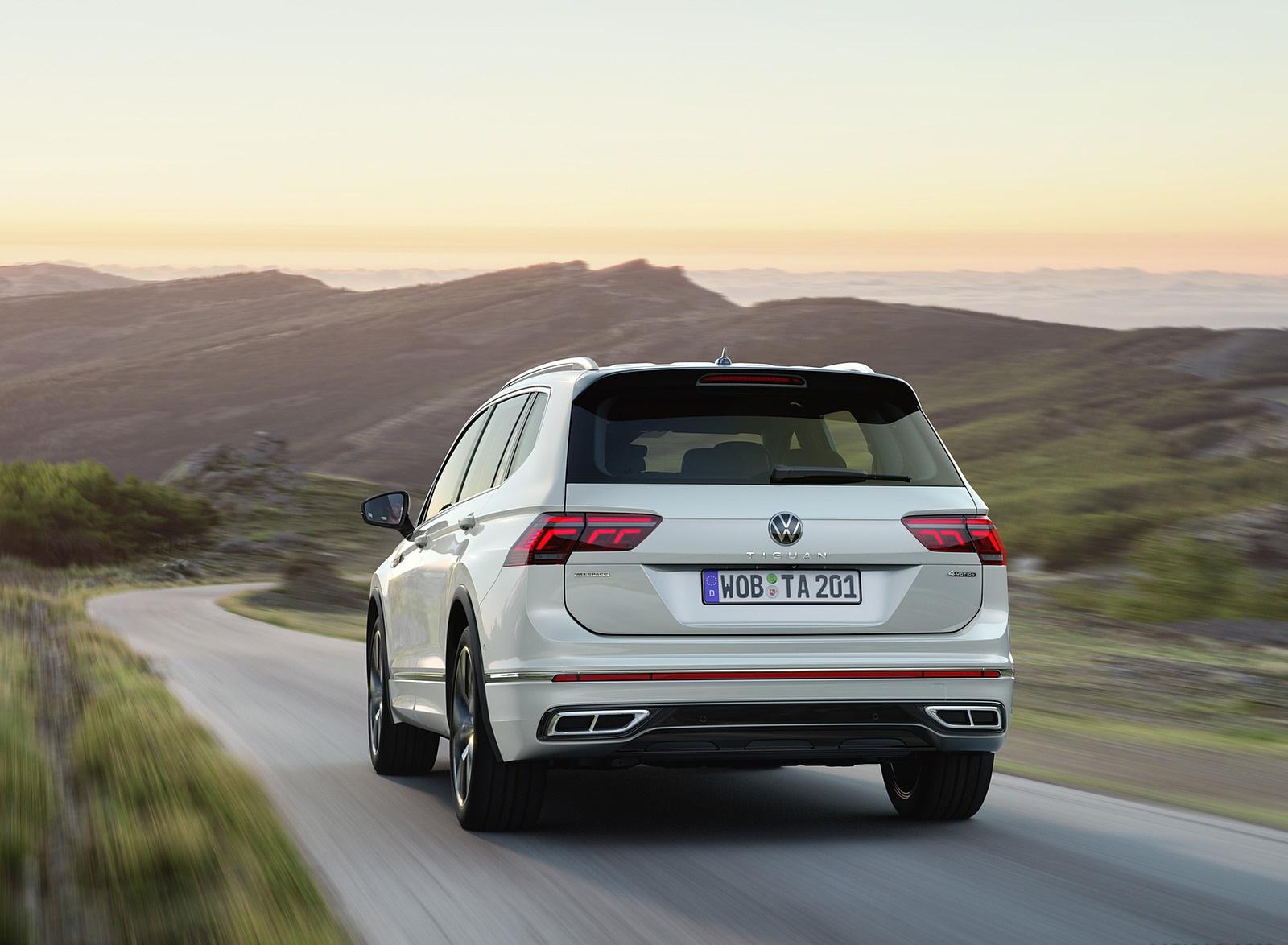 2022 Volkswagen Tiguan Allspace Rear Wallpapers (4)