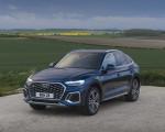 2021 Audi Q5 Sportback (UK-Spec) Front Three-Quarter Wallpapers 150x120 (37)