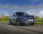 2021 Audi Q5 Sportback (UK-Spec) Front Three-Quarter Wallpapers 150x120 (28)