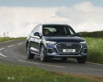 2021 Audi Q5 Sportback (UK-Spec) Front Wallpapers 150x120 (11)