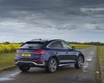 2021 Audi Q5 Sportback (UK-Spec) Rear Three-Quarter Wallpapers  150x120 (42)