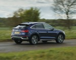 2021 Audi Q5 Sportback (UK-Spec) Rear Three-Quarter Wallpapers 150x120 (12)