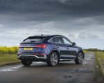2021 Audi Q5 Sportback (UK-Spec) Rear Three-Quarter Wallpapers 150x120 (35)