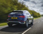 2021 Audi Q5 Sportback (UK-Spec) Rear Wallpapers 150x120 (22)
