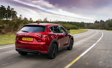 2021 Mazda CX-5 Kuro Edition Rear Three-Quarter Wallpapers 450x275 (3)