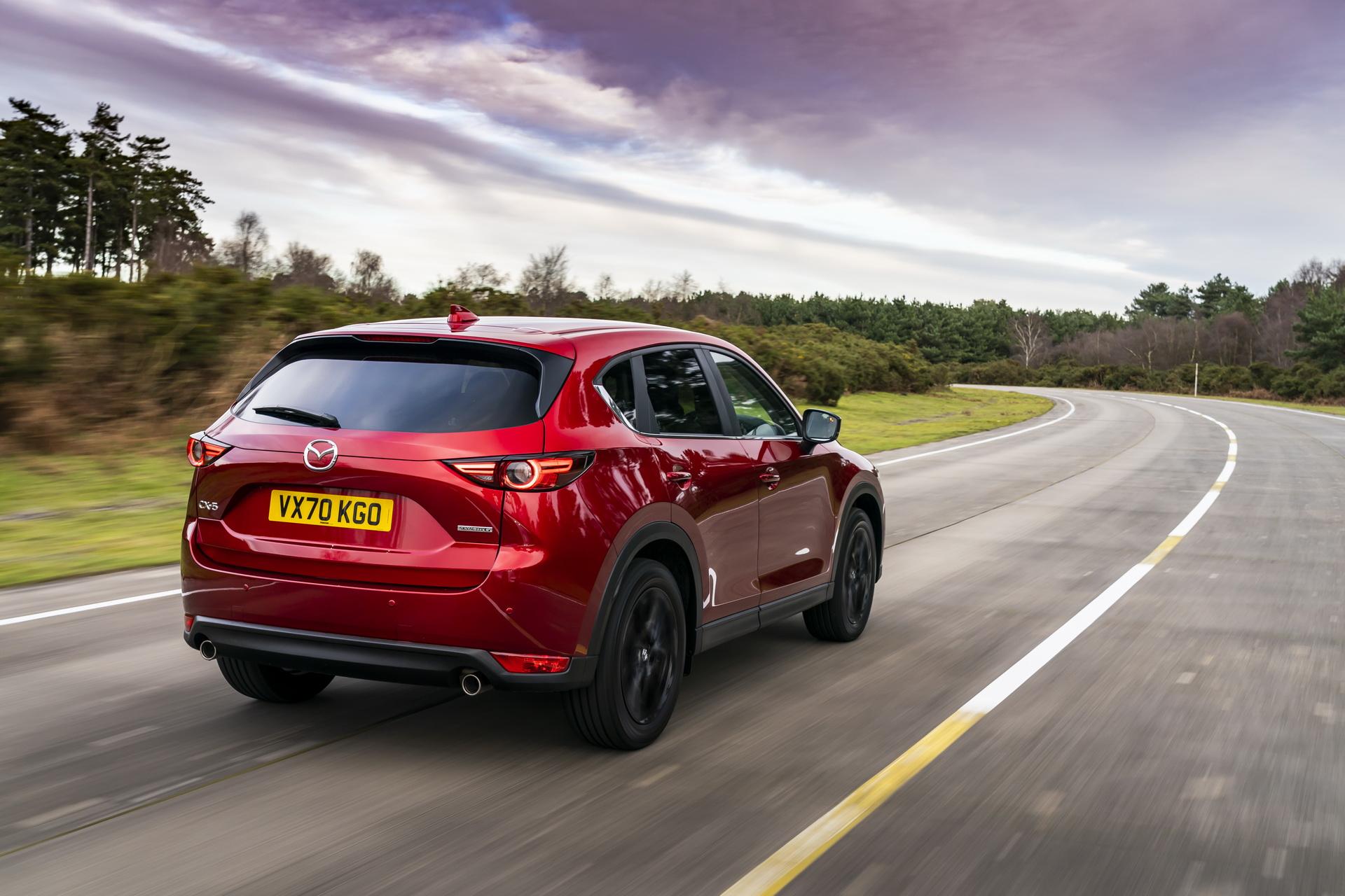2021 Mazda CX-5 Kuro Edition Rear Three-Quarter Wallpapers (3)