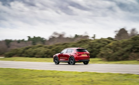 2021 Mazda CX-5 Kuro Edition Rear Three-Quarter Wallpapers 450x275 (31)