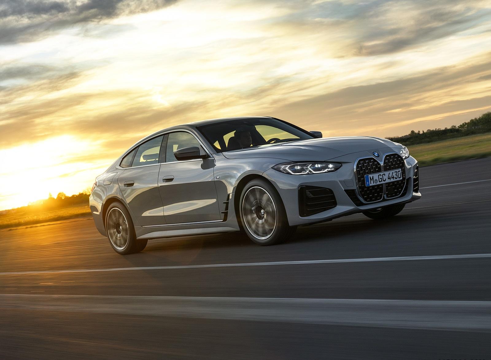 2022 BMW 4 Series 430i Gran Coupé Front Three-Quarter Wallpapers (1)