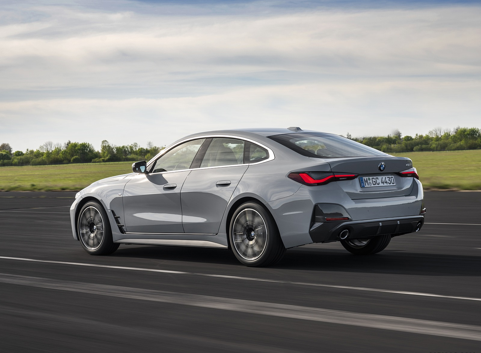 2022 BMW 4 Series 430i Gran Coupé Rear Three-Quarter Wallpapers (6)