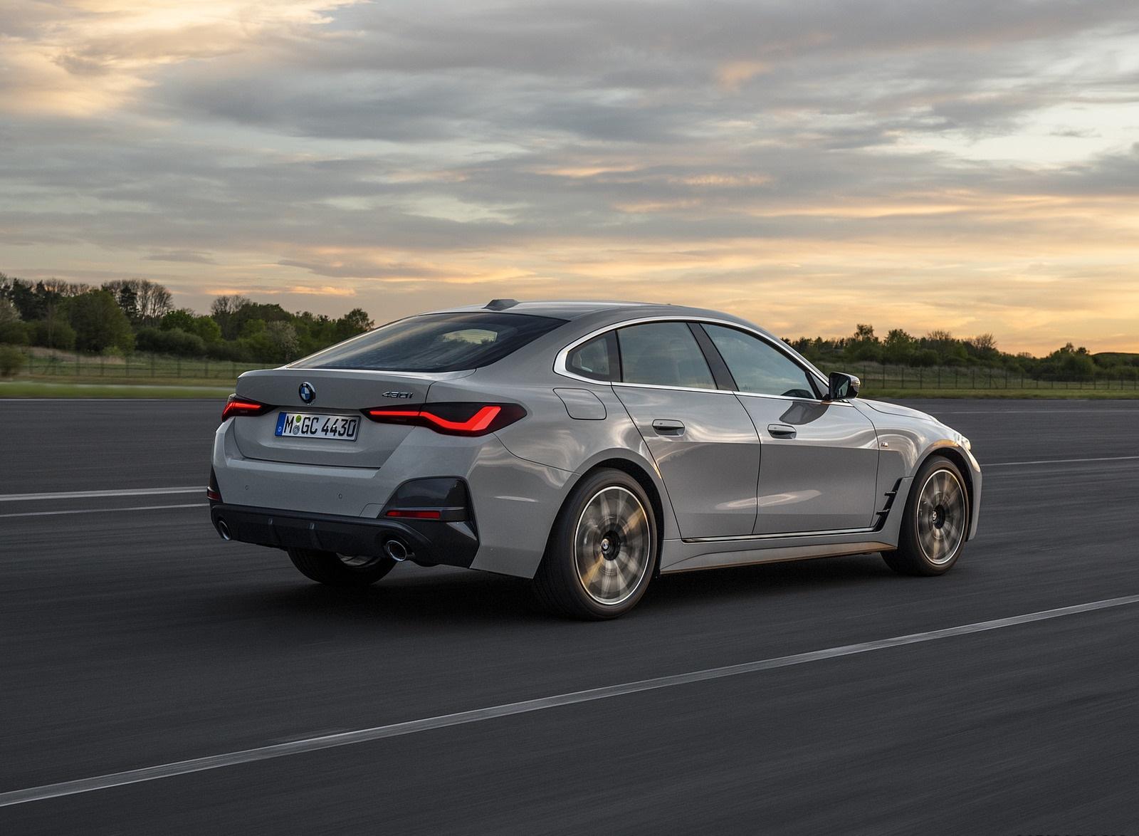 2022 BMW 4 Series 430i Gran Coupé Rear Three-Quarter Wallpapers (3)