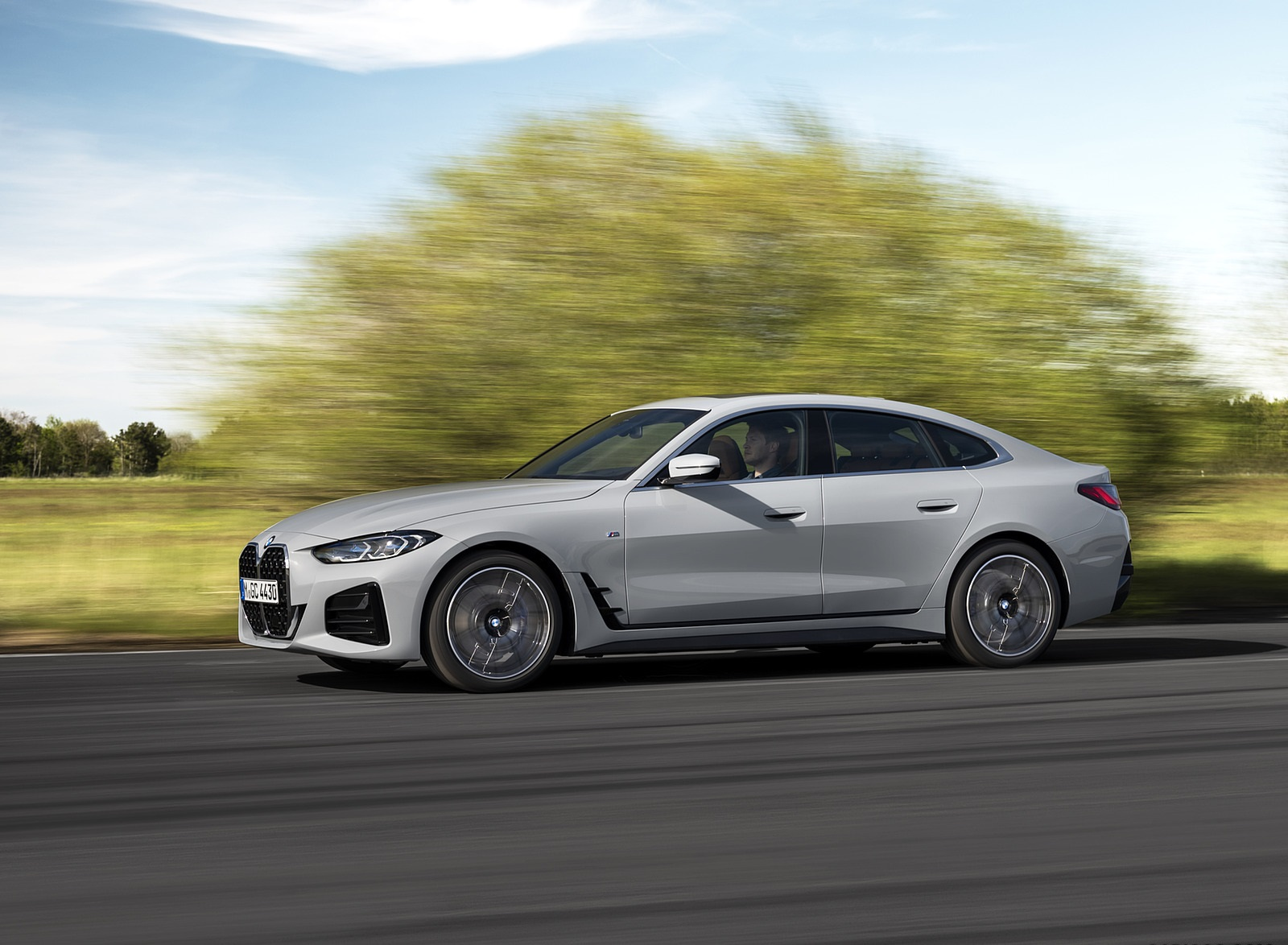 2022 BMW 4 Series 430i Gran Coupé Side Wallpapers (2)