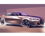 2022 BMW 4 Series Gran Coupé Design Sketch Wallpapers  150x120 (36)