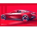 2022 BMW 4 Series Gran Coupé Design Sketch Wallpapers  150x120 (35)