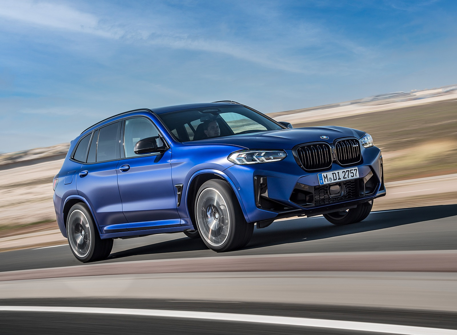 2022 BMW X3 M Competition Front Three-Quarter Wallpapers (1)