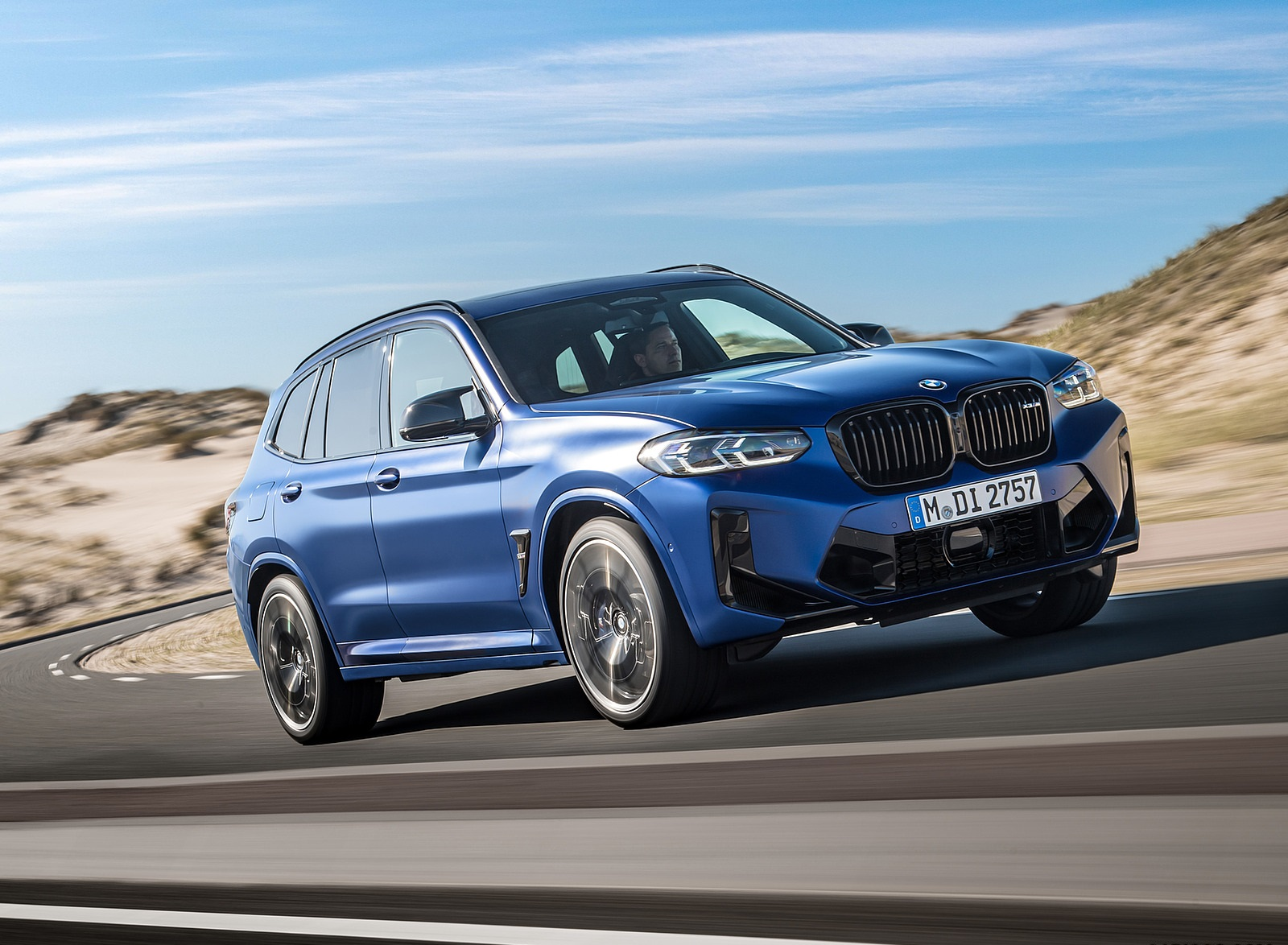 2022 BMW X3 M Competition Front Three-Quarter Wallpapers (5)