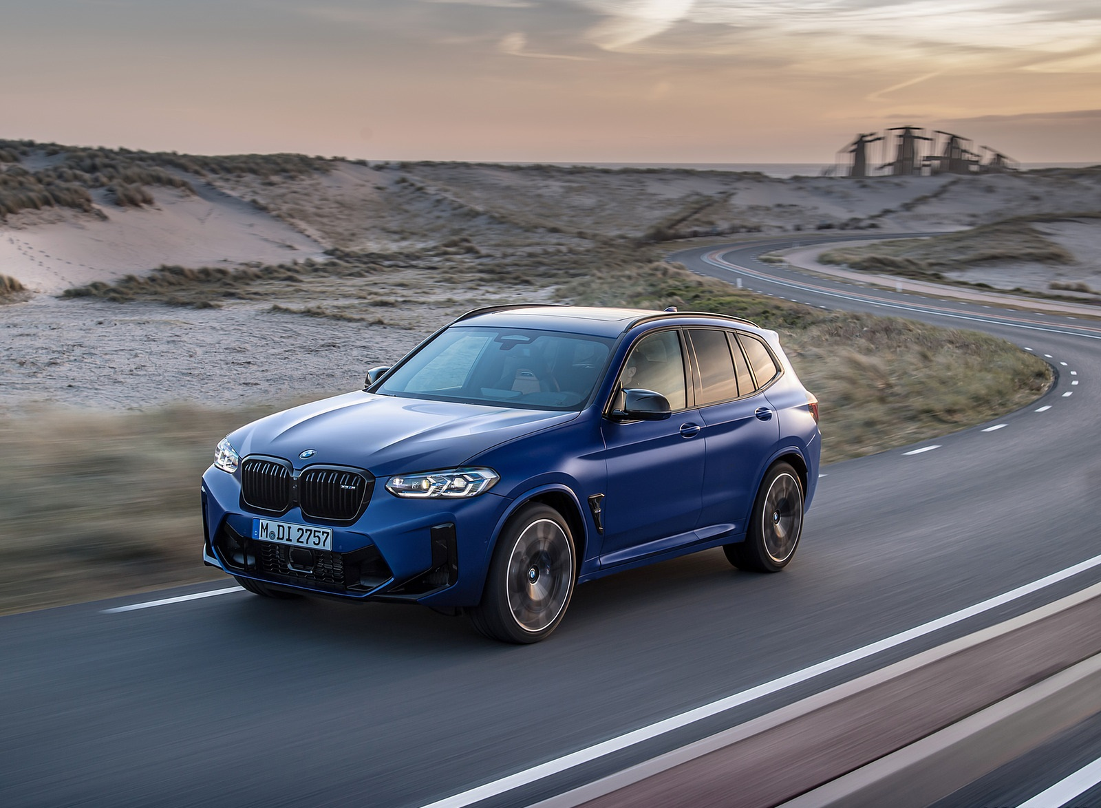 2022 BMW X3 M Competition Front Three-Quarter Wallpapers (7)