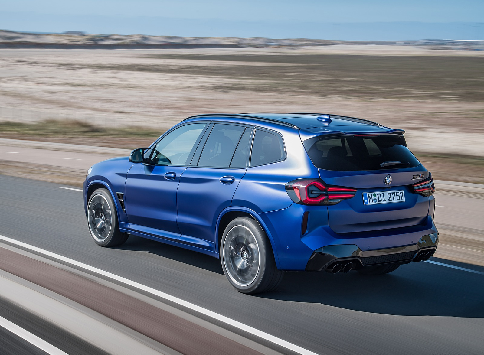 2022 BMW X3 M Competition Rear Three-Quarter Wallpapers (8)