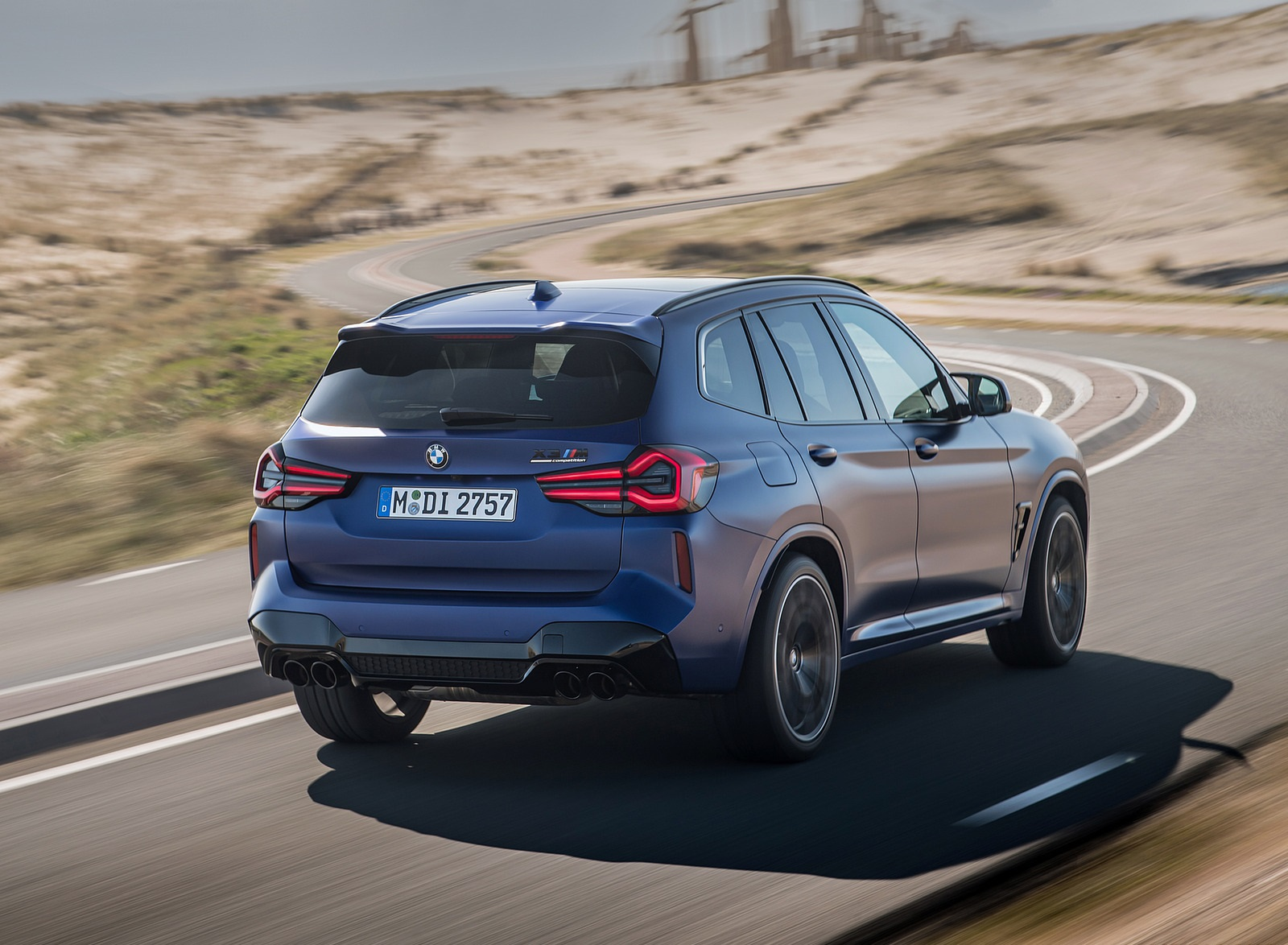 2022 BMW X3 M Competition Rear Three-Quarter Wallpapers (9)