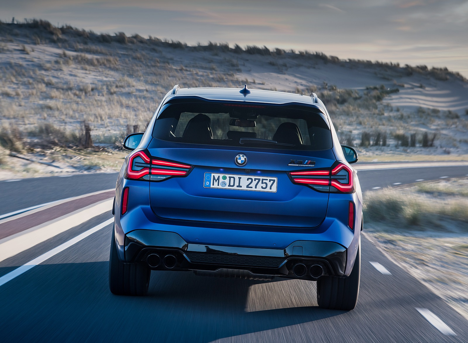 2022 BMW X3 M Competition Rear Wallpapers (10)