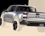 2022 Ford Maverick Hybrid XLT Design Sketch Wallpapers 150x120 (21)