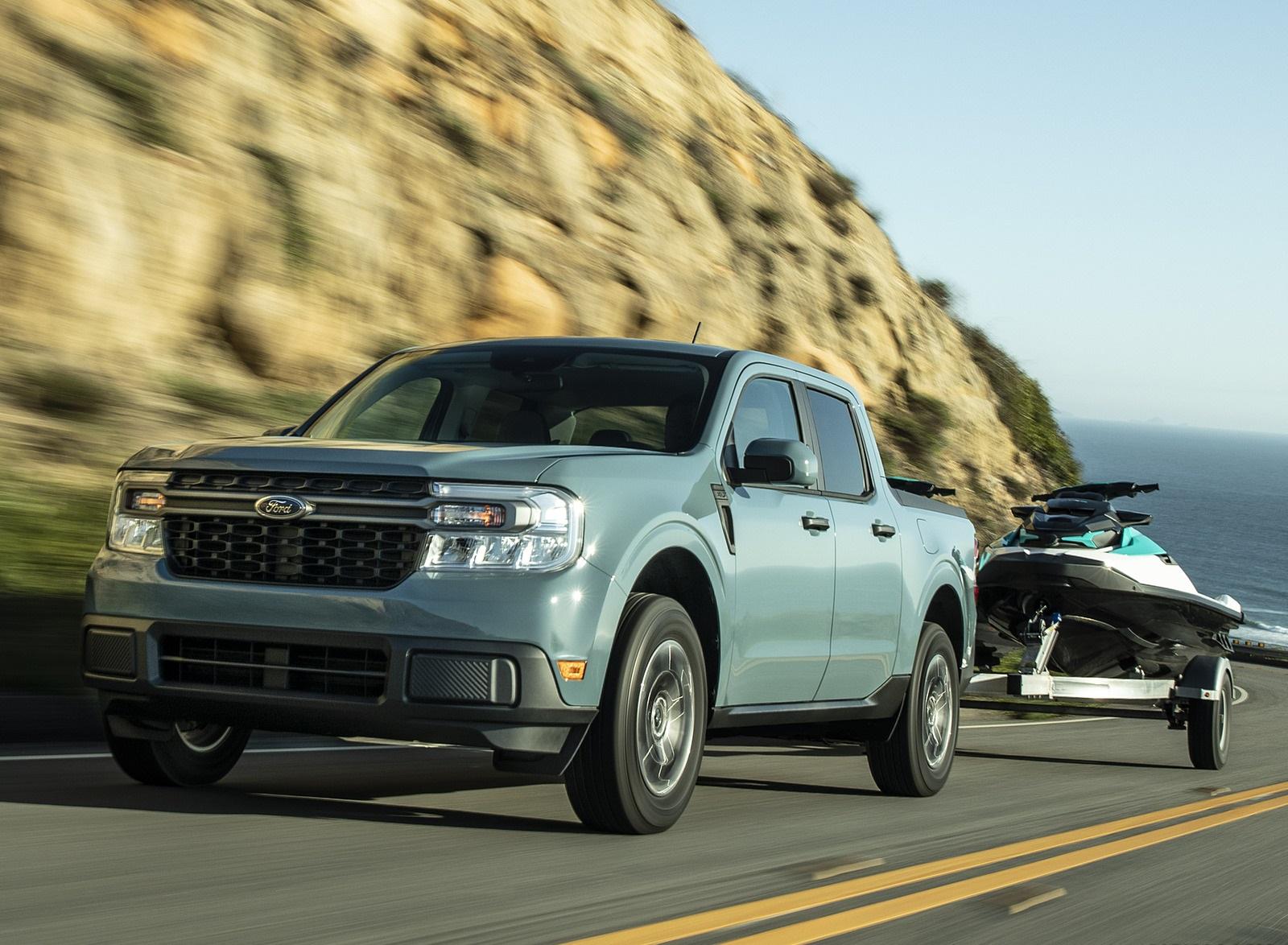2022 Ford Maverick Hybrid XLT Front Three-Quarter Wallpapers (1)