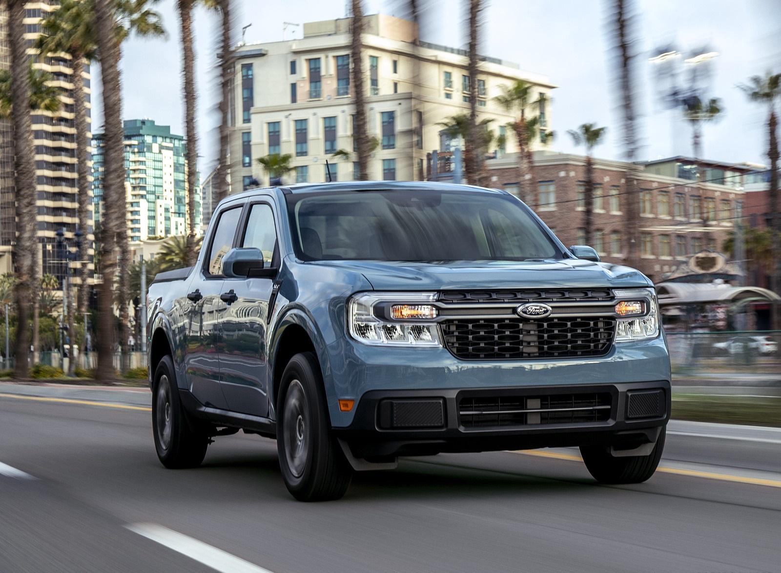 2022 Ford Maverick Hybrid XLT Front Three-Quarter Wallpapers (5)